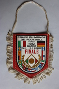 Fanion Football Italie Allemagne Italia Deutschland Coupe Du Monde 1982 World Cup Finale - Uniformes Recordatorios & Misc