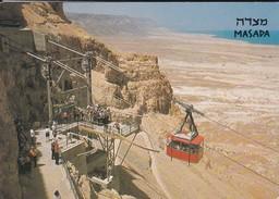 ISRAEL----MASADA---the Cableway -voir  2 Scans - Israel