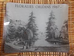 CENDRIER FLORALIES ORLEANS 1967 En Verre - Asbakken