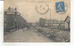 35. Lievin, La Route De Lens à Liévin - Lievin