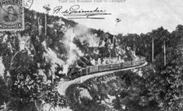 "ANTILLES - CUBA       "" TRAIN  AND  MOUNTAIN  VIEW  OF  CMAGUEY "" - Kuba"