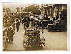PHOTO MONACO Le Rally International Automobile De Monaco Le Concours De Confort  1931    Grand Format - Monaco