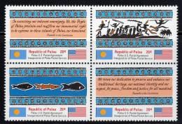 PALAU - 1983 - N°1/4 ** - Palau