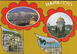 ISRAEL----HAIFA---multivues--voir  2 Scans - Israel