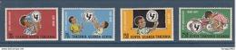 1972 Kenya Uganda Tanzania UNICEF Children Health  Complete Set Of  4 MNH - Kenya, Uganda & Tanzania