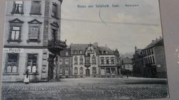CPA SULZBACH SAAR Marktplatz Gruss Aus Sulzbach 1909 - Germany