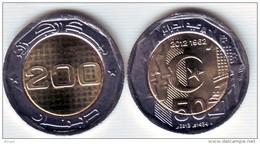 Algérie - Pièce 200,00 DA ( Neuve Issue De Rouleau) Commémorative Nouveau, Millésime 2013-1434. - Algeria