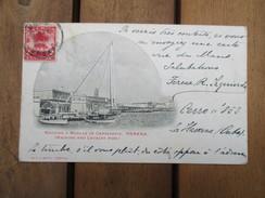 CPA CUBA LA HAVANE HABANA MACHINA Y MUELLE DE CABALLERIA - Cartes Postales