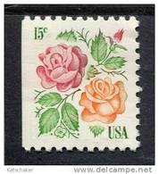 206108603 USA 1978 ** Mnh SCOTT 1737 Links Ongetand  Medaillon Rose - Unused Stamps