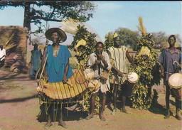 AFRIQUE---RARE---MALI--folklore Malien:musiciens Et Danseurs---voir  2 Scans - Mali