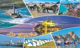 La Manche: Phare De Granville, Saint Vaast La Hougue, Gouville Sur Mer, Barfleur, Le Mont Saint Michel - France
