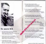 75- PARIS- PROGRAMME THEATRE ODEON -PIERRE DUX-72/73-ANTIGONE-BERTOLT BRECHT-SOPHOCLE-J.P. MIQUEL-CHAUMETTE-SILBERG - Programmi
