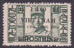 North Vietnam 1L 45 1945 Joost Van Vollenhoven 1,60d On 10c Green MNH - Viêt-Nam
