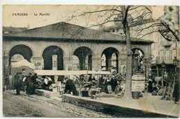 09 - PAMIERS - Le Marché - Pamiers