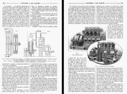 LES MOTEURS à GAZ PAUVRE  1908 - Transportation