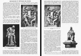 RESTAURATION Et NETTOYAGE Des STATUES   1908 - Autres Collections