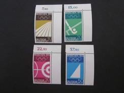 BRD Nr. 587 - 590 Eckrand Postfrisch** (C24) - [7] République Fédérale