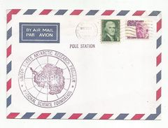USA OBLITERATION STATION POLAIRE USARP 1977 - Timbres