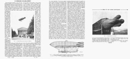 "LE DIRIGEABLE  "" BAYARD-CLEMENT ""  1908 - Unclassified"