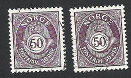Norwegen, 1978, Mi.-Nr. 759 X+y, Gestempelt - Norwegen