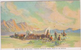 LB 33 : états- Unis : Travel  Before The Railroad-pioneers , Cow Boy- Indien - Verenigde Staten