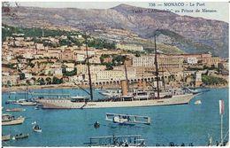 """Monaco - Fürstliche Yacht """"L'Hirondelle""""  (1921) - Dampfer"""