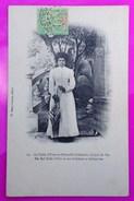 Cpa Nouvelle Calédonie La Table D' Unio Un Jour De Fête Carte Postale Rare New Caledonia La Foa Moindou Tribu Katricoin - Nouvelle Calédonie