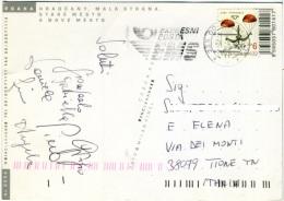 CZECH REPUBLIKA  PRAHA  Postcard  Used Stamp - Tchéquie