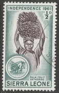 Sierra Leone. 1961 Independence. ½d Used. SG 223 - Sierra Leone (1961-...)