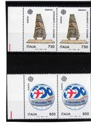 """1992 - COPPIA SERIE """" EUROPA """" NUOVA MNH** VEDI++++ - 6. 1946-.. Republic"""