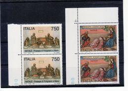 """1995 - COPPIA SERIE """" NATALE  """" NUOVA MNH** VEDI++++ - 6. 1946-.. Republic"""