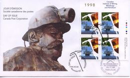 CANADA - CANADIAN MINING 1998  FDC175 - 1991-2000