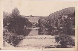 EGUZON (36) - La Creuse Au Sortir Du Barrage - Rameau - France