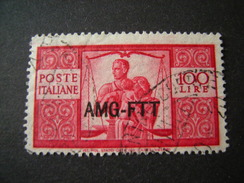 TRIESTE - AMGFTT. 1949-50, DEMOCRATICA, 11 Valori, L. 100 Usato, OCCASIONE - 7. Triest
