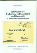 Der Postscheck-Briefverkehr In Deutschland Und Österreich, Herbert Stephan - Otros