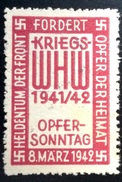 Vignette: WHW 1941/2 - Germany