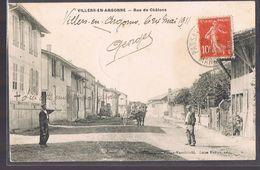 VILLERS - EN - ARGONNE . Rue De Châlons . Rare . - France