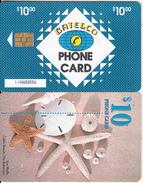 BAHAMAS ISL.(chip) - Sea Shells(BAH C22b), Small Number In Box, Chip GEM6b, Used - Bahamas