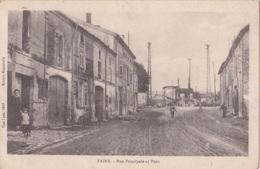 FAINS (55) - Rue Principale Et Pont - Manneville - Frankreich