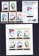 North Korea 1991 Antarctic Exploration 5v + 2 M/s ** Mnh (36779A) - Zonder Classificatie