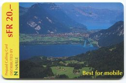 1669 - ECONO Phone SFR 20.- Prepaid Telefonkarte - Suisse