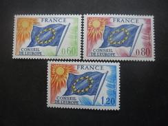 FRANCE Timbre De Service Série N°46 Au 48 Neuf ** - Neufs