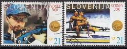 SLOVENIA 326-327,used - Ete 2000: Sydney