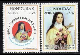 HONDURAS - 1997 - P A N°894/5 ** Sainte Thérèse De L'enfant  Jésus - Honduras