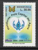 HONDURAS - 2005 - P A N°1271 **  Honduras,pays De L'eau (Papillon) - Honduras