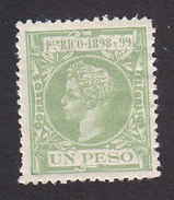 Puerto Rico, Scott #153, Mint Hinged, Alfonso XIII, Issued 1898 - Puerto Rico