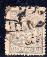 XP3184 - AFGANISTAN , 1 Valore Grigio Usato . - Afghanistan