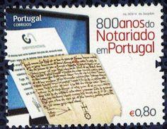 Portugal 2014 Neuf 800 Ans De Service Notarié Au Portugal - 1910 - ... Repubblica