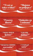 8 Different Coca Cola Coasters From Serbia - Coasters