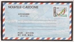 Nouvelle - Calédonie Rare Aérogramme 11A 65Fr Multicolor - Aérogrammes